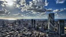Вид на город Тель-Авив. Архивное фото