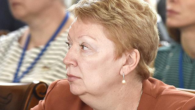 Министр образования и науки РФ Ольга Васильева на III Международном Ливадийском форуме в Ялте. 6 июня 2017