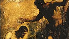 Тинторетто, «Крещение Христа», Венеция, церковь Сан Сильвестро
