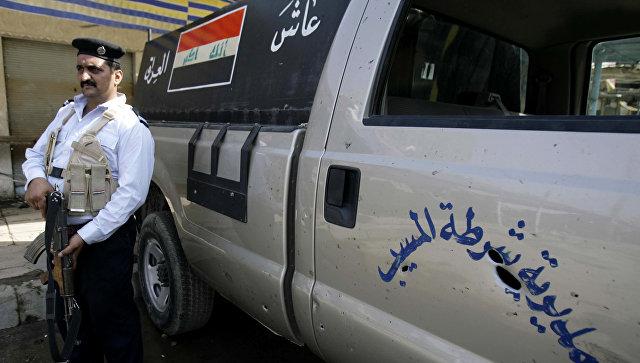 Сотрудник полиции в Ираке. Архивное фото