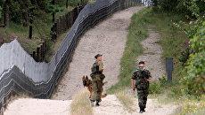 Российские пограничники . Архивное фото