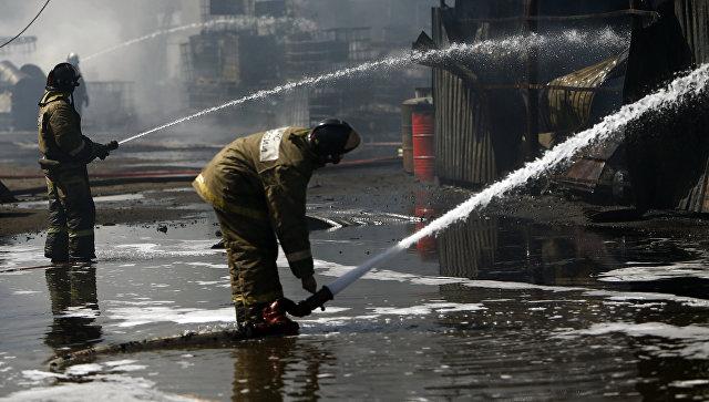 ВОренбурге проведут проверку пофакту пожара назаводе комбикормов