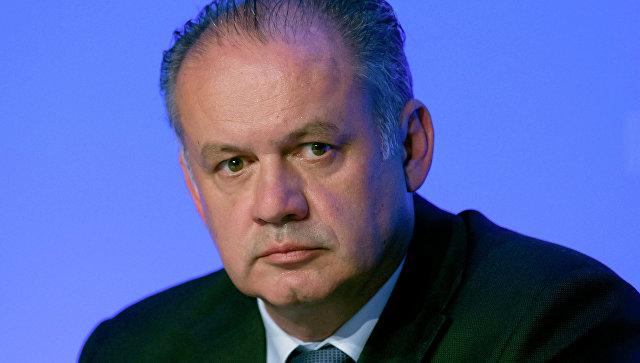 Президент Словакии отказался утвердить новое правительство