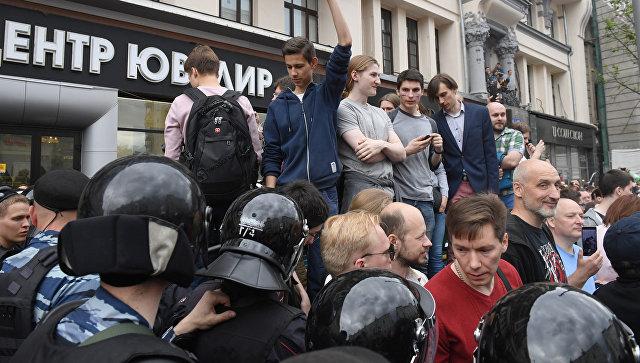 ВРФ задержали неменее  тысячи участников протеста