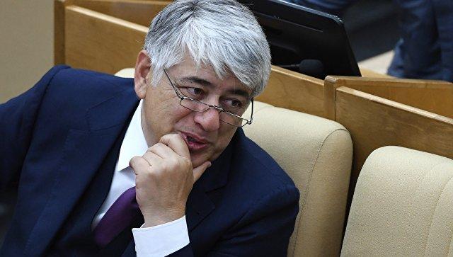 Отари Аршба на пленарном заседании Государственной Думы РФ. 14 июня 2017