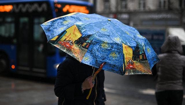 В Москву на неделю придут дожди