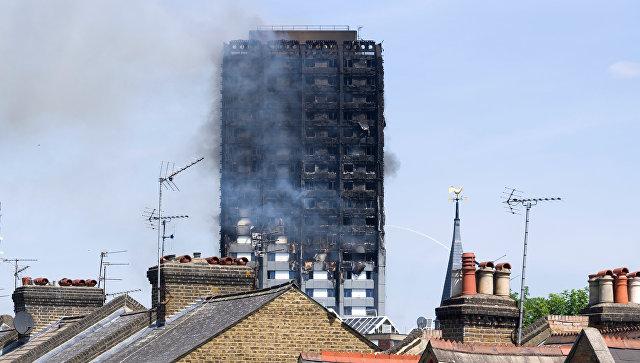 Распространению огня в английской высотке способствовала конструкция дома