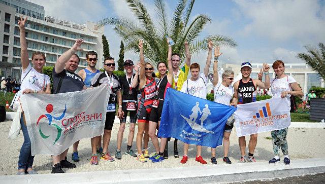Спортсмены с инвалидностью преодолели дистанции IRONSTAR в Сочи