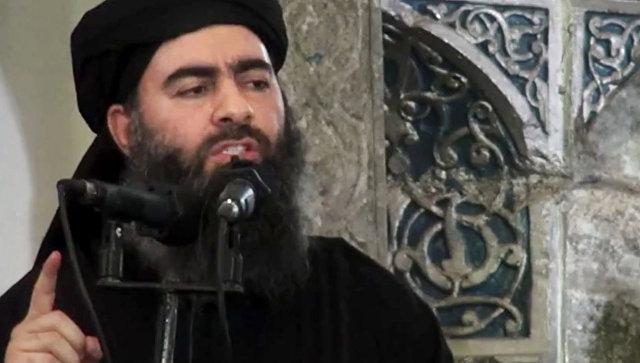 Лидер запрещенной в России террористической группировки Исламское государство Абу Бакр аль-Багдади. Архивное фото