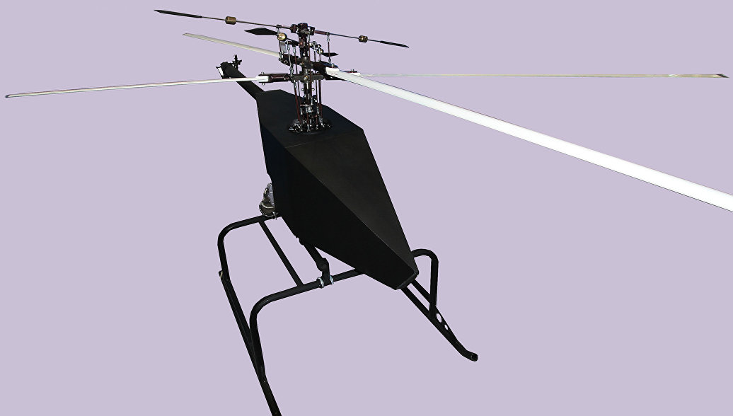 Беспилотный летательный аппарат вертолетного типа. Архивное фото