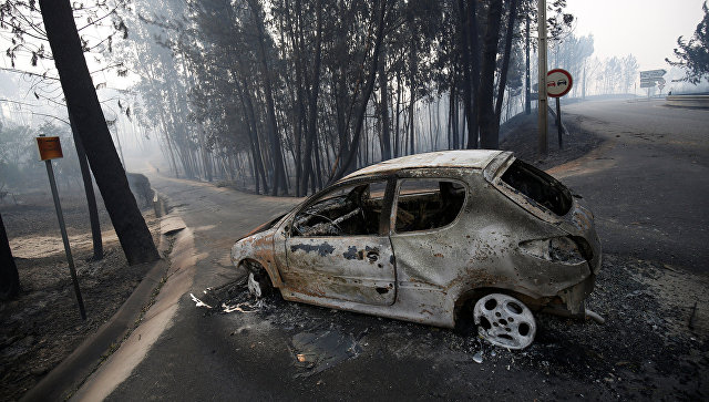 Траур пожертвам лесных пожаров вПортугалии продлится до20июня