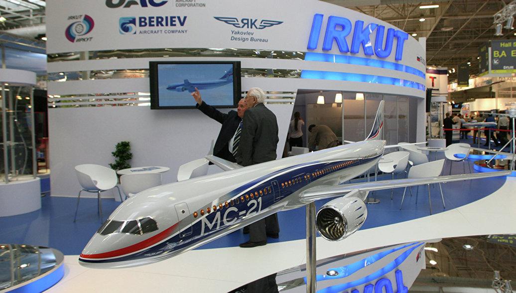 Россия заключила с Египтом соглашение на поставку 6 самолетов МС-21
