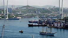 Очистка бухты Золотой рог вышла на второй этап