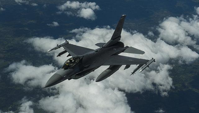 Истребитель НАТО F-16