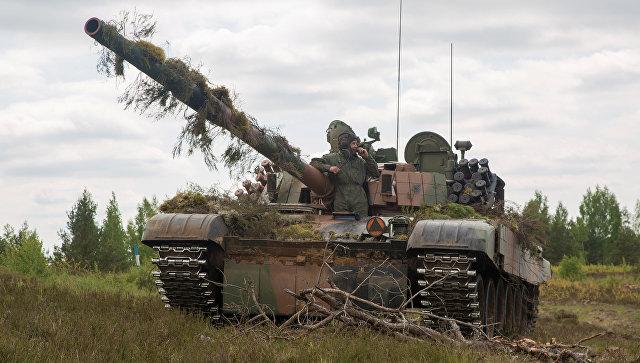 Учения НАТО Saber Strike 2017 в Латвии