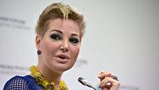 Вдова экс-депутата Госдумы РФ Дениса Вороненкова. Архивное фото