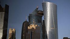 Небоскребы в столице Катара Дохе. Архивное фото