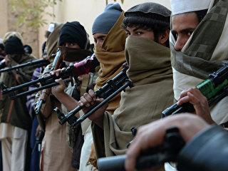 Члены движения Талибан, Афганистан. Архивное фото