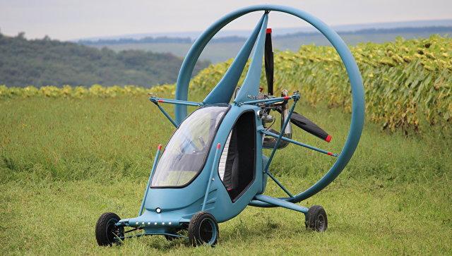 В РФ создали летающий электромобиль