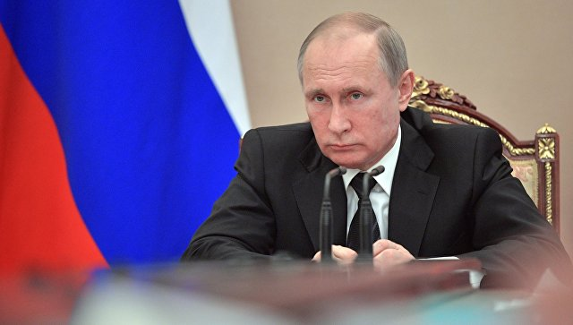 Президент РФ Владимир Путин провел совещание с членами правительства РФ. Архивное фото