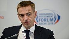 Статс-секретарь, заместитель министра промышленности и торговли РФ Виктор Евтухов. Архивное фото