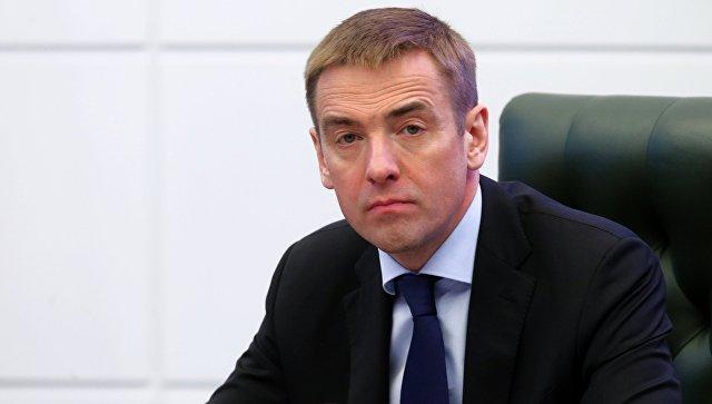 Заместитель министра промышленности и торговли РФ Виктор Евтухов. Архивное фото