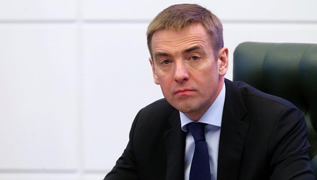 Заместитель министра промышленности и торговли РФ Виктор Евтухов. Архив