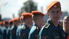 Выпускник Академии государственной противопожарной службы МЧС России