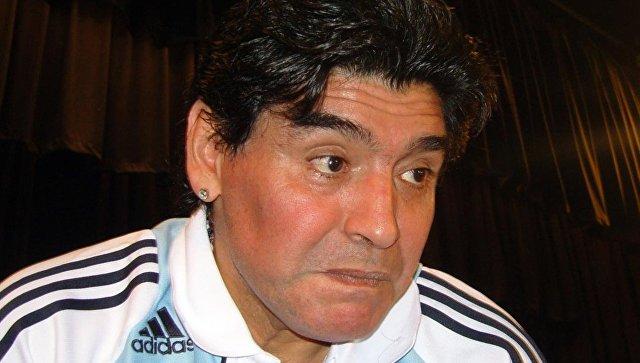 Марадона признался, что является фанатом Путина