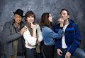 Актеры фильма Цена страсти во время фотосессии на кинофестивале Сандэнс в штате Юта. 2011