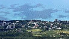 Вид на город Ялту с горы Ай-Петри. Архивное фото
