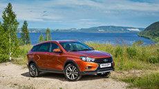 Новый универсал Lada Vesta SW Cross автоконцерна ПАО АВТОВАЗ
