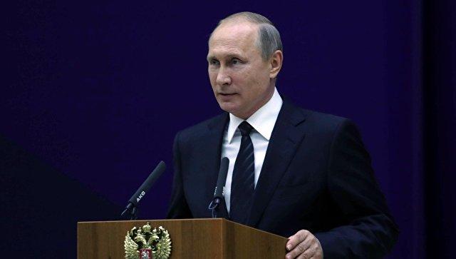 Путин заявил, что Россия продолжит наращивать потенциал внешней разведки