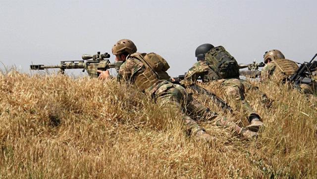 Курдские формирования. Архивное фото