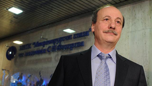 Профессор Христо Тахчиди, руководивший операцией по имплантации бионической сетчатки