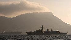 Фрегат британских королевских ВМС. Архивное фото