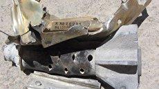 Фрагменты противотанковых ракет ТОУ американского производства найденные российскими военными 1 июля в восточном пригороде Дамаска в районе Аль-Каббас