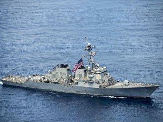Американский эсминец USS Stethem. Архивное фото