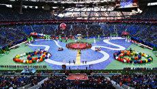 Церемония закрытия Кубка конфедераций-2017 в Санкт-Петербурге. Архивное фото