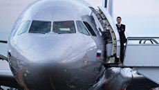 Самолет Airbus A321 авиакомпании Аэрофлот . Архивное фото