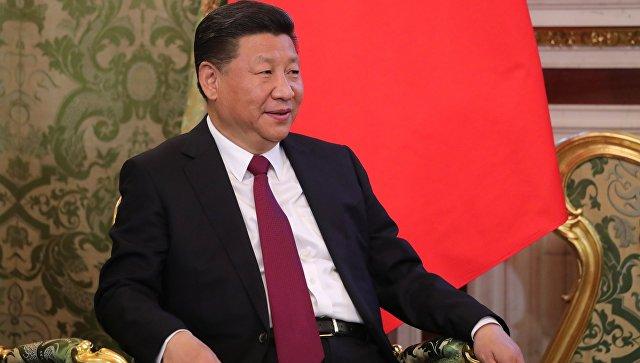 Председатель Китайской Народной Республики Си Цзиньпин. Архивное фото