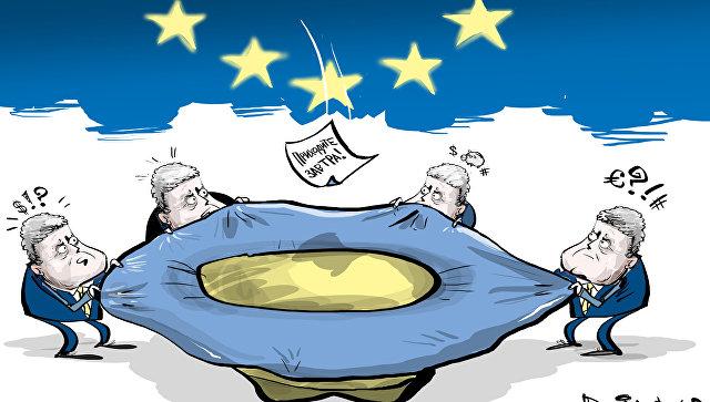 Внешний долг государства Украина перевалил за 76 миллиардов долларов. Держи шапку шире