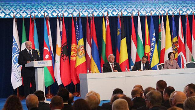 Лукашенко выступит перед участниками минской сессии Парламентской ассамблеи ОБСЕ