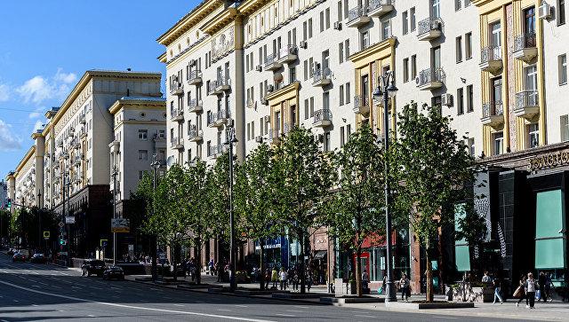 Липовая аллея на Тверской улице. Архивное фото