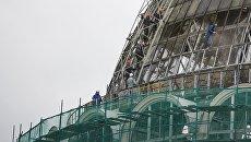 Реконструкция купола павильона №32–34 Космос / Машиностроение на ВДНХ