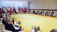 Встреча лидеров стран БРИКС в преддверии саммита Группы двадцати G20 в Гамбурге. Архивное фото