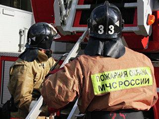 Пожарная охрана МЧС России. Архивное фото
