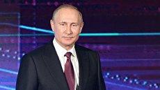 Владимир Путин на открытии Международной промышленной выставки Иннопром. 9 июля 2017