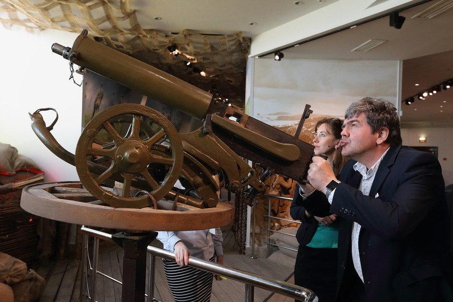 Интерактивная часть экспозиции музея оружия