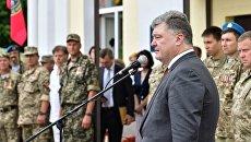 Рабочая поездка президента Украины Петра Порошенко в Сумскую область. Архивное фото